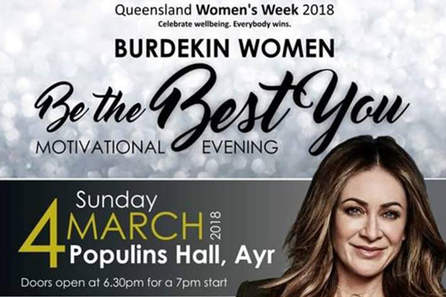 Burdekin Women Be the Best You Motivational Evening