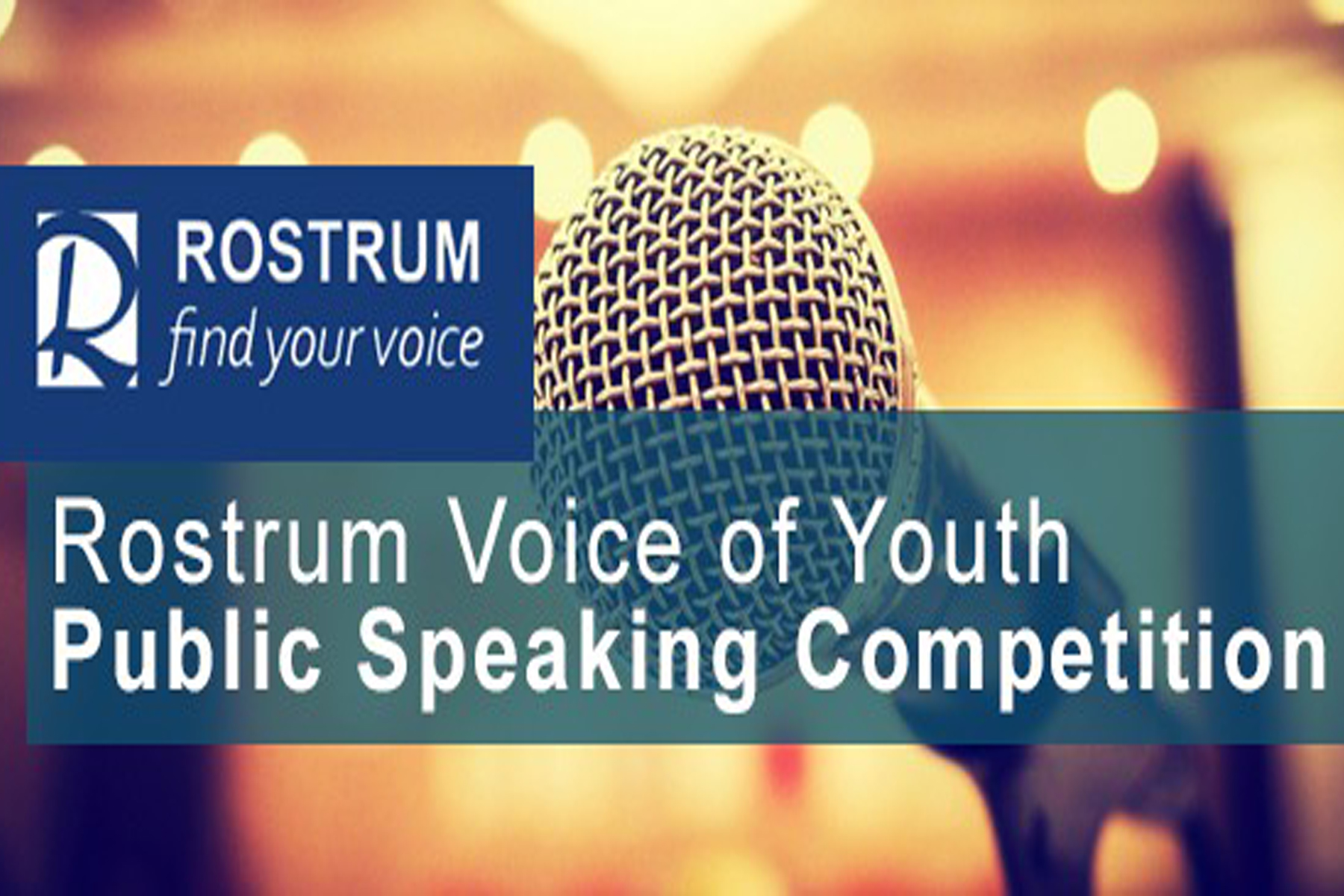 Students Step Up to Rostrum